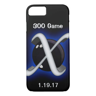 Xmachine bowling ball graphic for great bowling iPhone 8/7 case