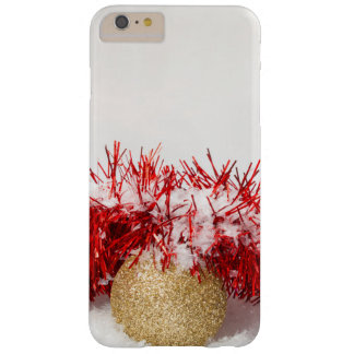 Xmas Bauble Tinsel and Snow iPhone 6/6s Plus Case Barely There iPhone 6 Plus Case
