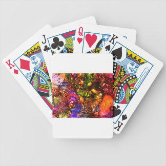 xmas bicycle playing cards
