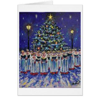 Xmas card 6. Choir