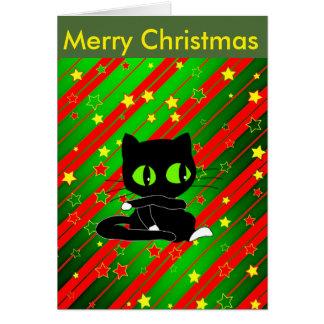 Xmas Cat Card