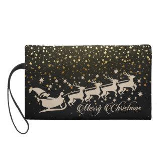 Xmas Christmas Season Wristlet
