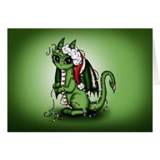 Xmas Dragon Card