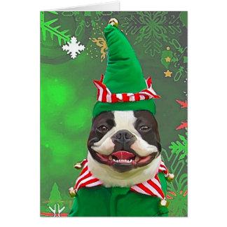 Xmas Elf Card