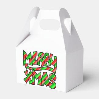 XMAS Graffiti Favour Box