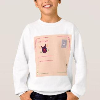 Xmas greeting kids design sweatshirt