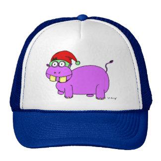 Xmas Hippo Hat