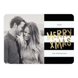 Xmas | Holiday Photo Card 13 Cm X 18 Cm Invitation Card