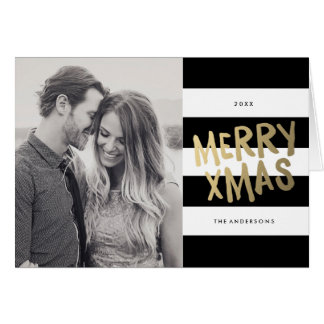 Xmas | Holiday Photo Greeting Card