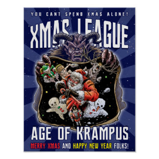 Xmas League Age of Krampus Poster