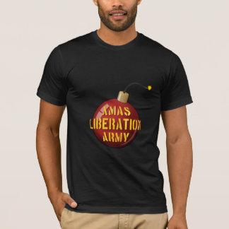 Xmas Liberation Army Bomb dark t-shirt