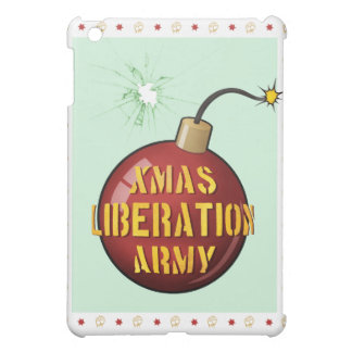 Xmas Liberation Army Bomb iPad case