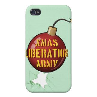 Xmas Liberation Army Bomb iPhone 4 case