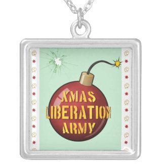 Xmas Liberation Army Bomb necklace