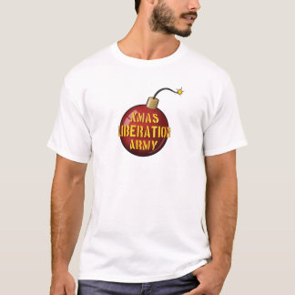 Xmas Liberation Army Bomb t-shirt