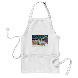 Xmas Magic - 2 Llamas Standard Apron