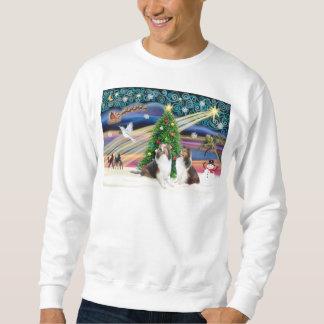 Xmas Magic - 2 Shelties Sweatshirt