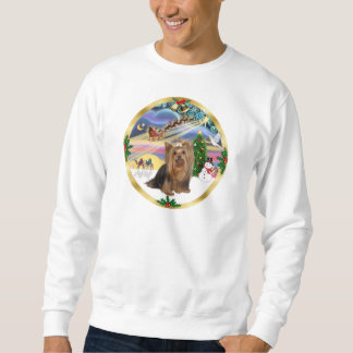 Xmas Magic (W) - Yorkshire Terrier Sweatshirt