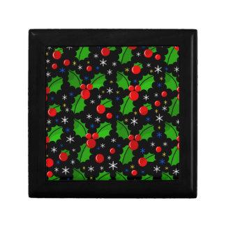Xmas magical pattern gift box