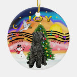 Xmas Music  - Kerry Blue Terrier