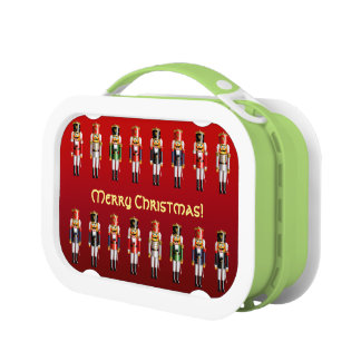 Xmas Nutcracker Sentinels Lunch Box