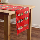 Xmas Nutcracker Soldiers Short Table Runner