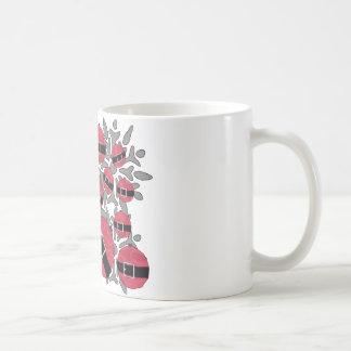 Xmas ornament coffee mugs