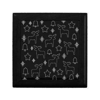 Xmas pattern gift box