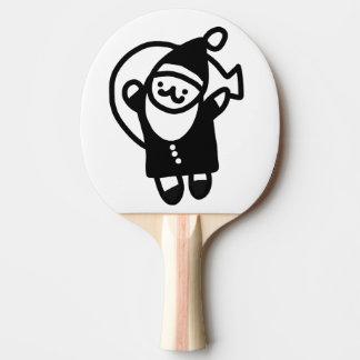 Xmas Ping Pong Paddle