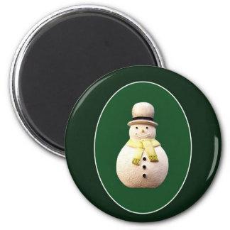 Xmas Snowman Refrigerator Magnet
