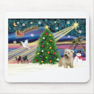 XmasMagic-Glen of Imaal Terrier Mouse Pad