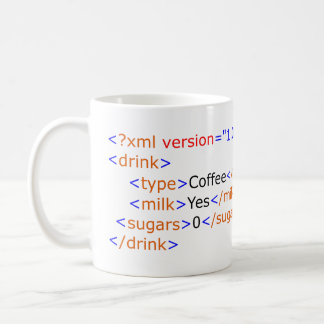 XML Programming Coffee Mug