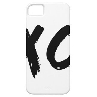 XO Brush Minimal iPhone 5 Case