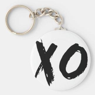 XO Brush Minimal Key Ring