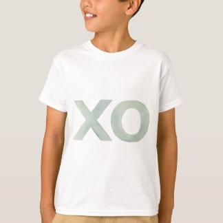 XO Gray watercolor T-Shirt