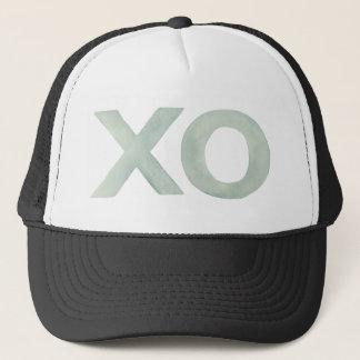 XO Gray watercolor Trucker Hat