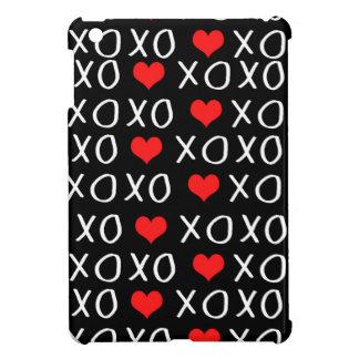 XO Valentines day pattern iPad Mini Cases