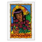 Xochiquetzal Greeting Card