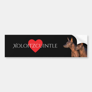 Xoloitzcuintle Bumper Sticker