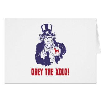 Xoloitzcuintli Card