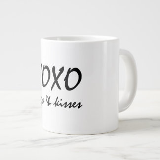 XOX HUGS AND KISS LARGE COFFEE MUG