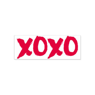 XOXO Brushstroke Self-inking Stamp