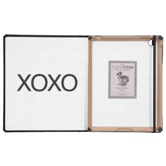 xoxo iPad folio cases