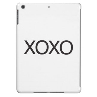 xoxo iPad air cover