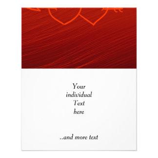 XOXO,hearts red (I) 11.5 Cm X 14 Cm Flyer
