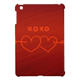 XOXO,hearts red (I) iPad Mini Case
