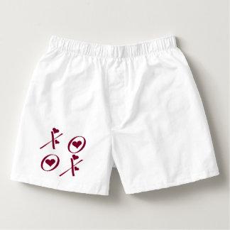 XOXO Hearts Valentine's Day Boxers