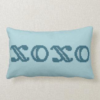 XOXO Hugs and Kisses Lumbar Pillow