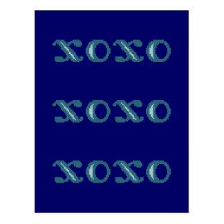 XOXO Hugs and Kisses Post Cards