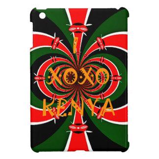 XOXO I Love Kenya Black Red Green National Flag Co iPad Mini Covers